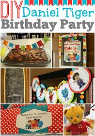 Child at Heart: Daniel Tiger Birthday Party + 2 Free Printables