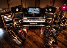 Home record studio