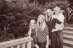 Simply Relevant Life: 4 generation photo ideas; black and white coordination