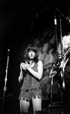 "Grace Slick (Lead vocalist of the progressive rock bands The Great Society, Jefferson Airplane, Jefferson Starship,  Starship, as well as work as a solo artist. With Jefferson Airplane, their song ""White Rabbit"" was listed as 478 on the Rolling Stone's 500 Greatest Songs of All Time,  inducted into the Rock  Roll Hall of Fame in 1996. She was ranked 20 on VH1's 100 Greatest Women of Rock  Roll,  nominated for a Grammy award.)"