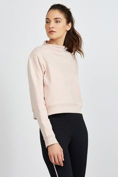 CLEO CROPPED SWEATSHIRT