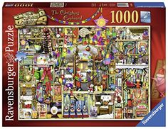 #Ravensburger The #Christmas Cupboard, Colin Thompson #JigsawPuzzle (1000-Piece) http://jigsawpuzzlesforadults.com/ravensburger-christmas-jigsaw-puzzles/