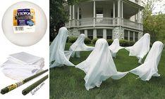 Dancing Ghosts In The Backyard
