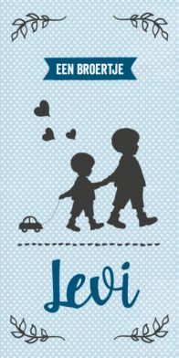 Geboortekaartje silhouet jongen #geboortekaart #geboortekaartje #broertjes #broertje #zoontje #silhouet #silhouette #vintage #zachtblauw #stippen Typo, Sewing Crafts, Birth, Silhouette, Retro, Drawings, How To Make, Character, Neo Traditional