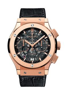 Details and features of 0 Chronograph, Swiss luxury watch by Hublot. Find out where to buy and prices of Hublot Classic Fusion watches. Patek Philippe, Hublot Classic Fusion, Hublot Watches, Men's Watches, Fine Watches, Black Watches, Watches Online, Expensive Watches, Omega Seamaster