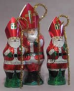 """Restoring the """"Saint"""" in Old Saint Nick by turning chocolate Santas into the Real St. Nicholas"""