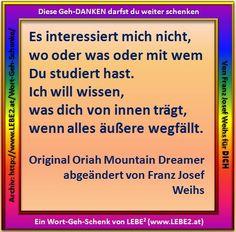 Das LEBE² Wort-Geh-Schenk vom 08.12.2014 DU darfst es weiter schenken / teilen http://www.lebe2.at/ http://www.lebe2.at/Wort-Geh-Schenke/fs_168.jpg