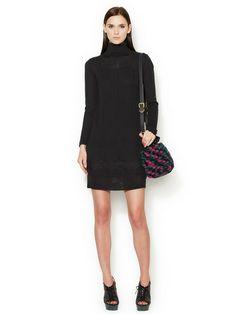 Pointelle Turtleneck Dress by M Missoni at Gilt