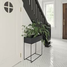 Discover the Plant Box by ferm Living in the interior design shop. Order the ferm Living all-rounder now. Deco Design, Interior Design, Design Shop, Boutique Design, Planter Boxes, Planters, Plant Box, Plant Stands, Landscaping