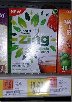FREE Zing Sweetener PLUS Overage At Walmart!