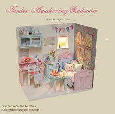 Lindos Sonhos Dourados: Diorama: Nerea Pozo Art & Dolls