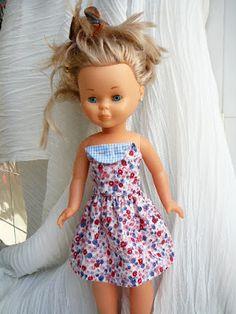 ANILEGRA COSE PARA NANCY: Patrones y tutorial vestido NANCY tipo mandilón…