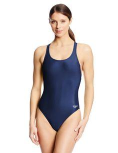 Speedo Women's Pro LT Super Pro Swimsuit Nautical Navy 36