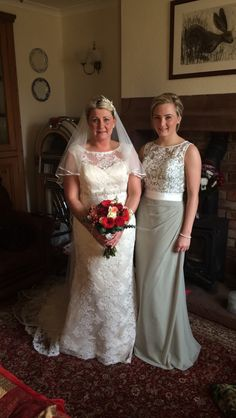 Sarah and Chloe wearing PLG and True Bride