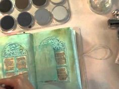 inspiration wednesday 5.16.12- Loved the techniques in this video....Donna Downey is so creative!!