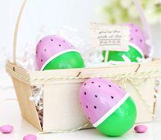Watermelon Easter Eggs