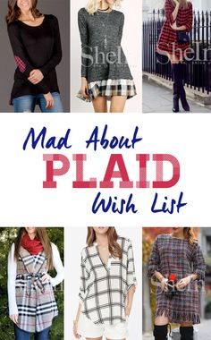 Mad About Plaid with SheIn