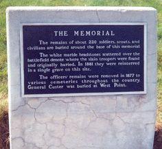 Little big horn headstone - Little Bighorn Battlefield National Monument - Wikipedia