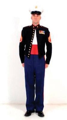 Evening dress uniform marine corps quote