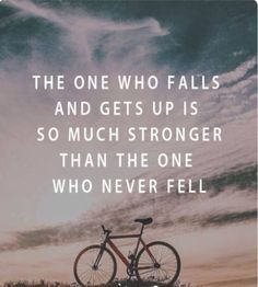 So true.  Build the mental toughness muscle… fall and get back up. You can!  Check the 24-hour step-by-step blueprint to quickly overcome controlling abusive relationships -> http://www.unstoppablemeblueprint.com/  #getup #strong #stronger #strongperson #standup #bounceback #failures #learningprocess #learnings #challenges  #pickupyourself #regain #courage #unstoppableme