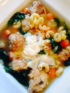 21 Day Fix Italian Wedding Soup Plus