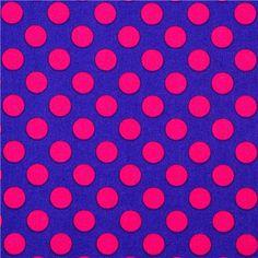 purple Michael Miller fabric pink polka dots