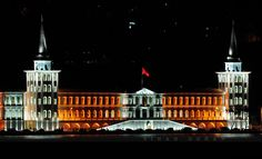 kuleli military college, Istanbul.