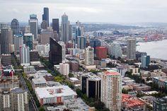 Downtown, Seattle, Washington.