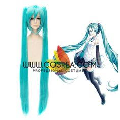 Wig Detail Vocaloid Miku Hatsune Extended Cosplay Wig Includes: Wig, Hair Net Important Information: Fitting - Maximum circumference of 55-60CM Material - Heat Resistant Fiber Style - Comes pre-style