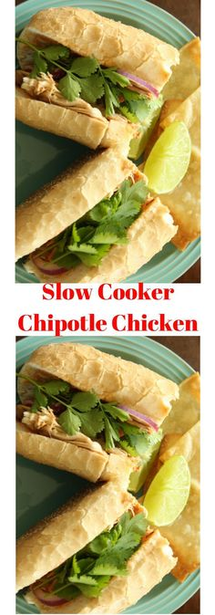 Craving a spicy chipotle chicken? This slow cooker chipotle chicken easy recipe is spicy and delicious. Pin to save for later.