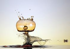 An incredibly talented #German #photographer specializes in #high-speed and #macro #photography. Marcus Reugels #Water #Art