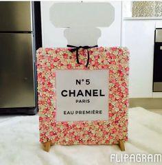 Perfume bottle by Glitteryletters on Etsy