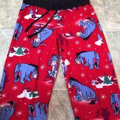 Eeyore Pajama Pants! Super cute and comfortable Lightly worn / No imperfections  Adult Medium Disney Pants