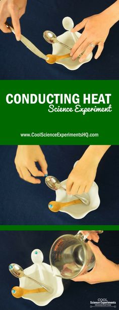Conducting Heat Science Experiment Steps Source by ariariale Preschool Science, Elementary Science, Science Classroom, Science Education, Teaching Science, Science For Kids, Science Labs, Science Ideas, Montessori Science