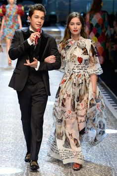 Meet the 39 New Millennial Models Who Just Walked Dolce & Gabbana's Fall Show   Marie-Ange Casta The 26-year-old actress sister of supermodel Laetitia Casta.