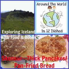 Crafty Moms Share: Around the World in 12 Dishes: Iceland--Skonsur Gourmet Recipes, Soup Recipes, Great Recipes, Healthy Recipes, Pan Fried Bread, How To Make Sandwich, Clam Chowder, Peeling Potatoes, Cooking With Kids