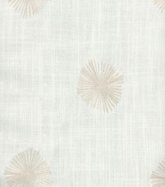 Nate Berkus Home Decor Print Fabric-Zodi Quartz