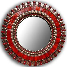 10in Red Bronze Mirror