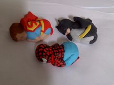 Awww.....Superhero baby cake toppers....how darn cute!!!
