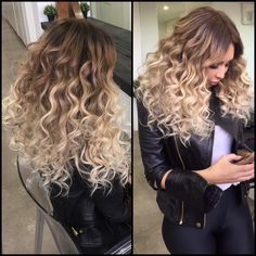 Step back! This is DIVINE!! Sydney Fashion Blogger hair by Natalie Anne is flawless