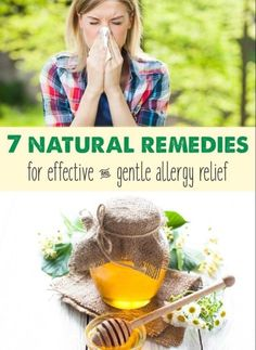 Fight Off Your Allergies With These 7 All Natural Home Remedies – snackfoodhere.us Natural Allergy Relief, Natural Remedies For Allergies, Natural Cold Remedies, Cough Remedies, Holistic Remedies, Herbal Remedies, Wellness Mama, Seasonal Allergies, Herbalism