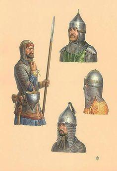 Rus' Types of Helmets