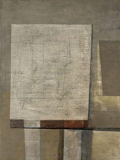 Nicholson, Ben (1894-1982) - 1957 Still Life  Oil and pencil on canvas; 119.5 x 88.5 cm.(National Galleries of Scotland, Edinburgh)