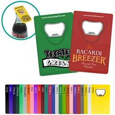 Super Cool Bottle Opener for tough openings! Promotional Credit Card Bottle Opener | Customized Bottle Openers