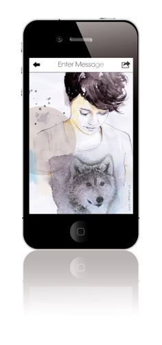 Card lust iphone greeting card app introducing pinterest an all time favorite card lust from illustrator sara hingle httpsitunes m4hsunfo