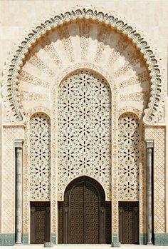 Beautiful white door