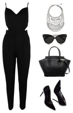 """Untitled #688"" by patrisha175 ❤ liked on Polyvore featuring Express and Linda Farrow"