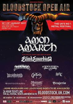 More bands join the Bloodstock Open Air Festival 2017 line up