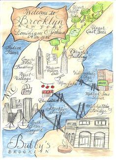 Watercolor Wedding Map Diy Print At Home Or Order Prints