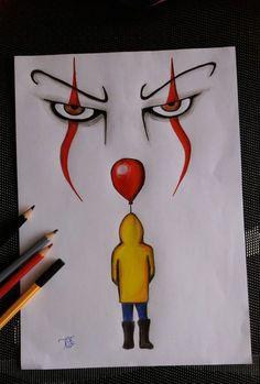 "Hobo Heart Creepypasta Poster Print""},""grid_title"":""Hobo Heart Creepypasta Poster Print ""Es"" – der Clown 🎪 ""Es"" – der Clown 🎪 – Sponsored Sponsored \""It\"" – the clown 🎪 \""It\"" – the clown 🎪 – the Scary Drawings, Art Drawings Sketches Simple, Pencil Art Drawings, Art Sketches, Drawing Ideas, Drawing Tips, Cool Simple Drawings, Flower Drawings, Colorful Drawings"